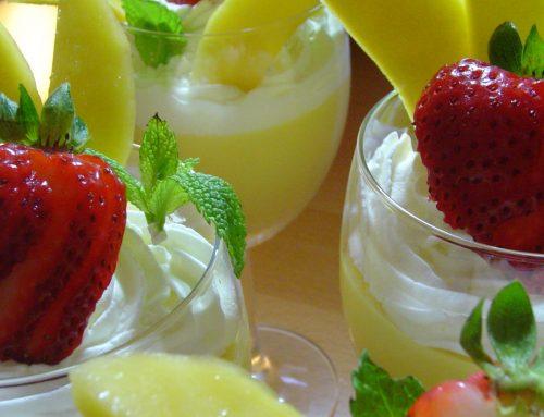 Lemon Zest Ricotta Creme