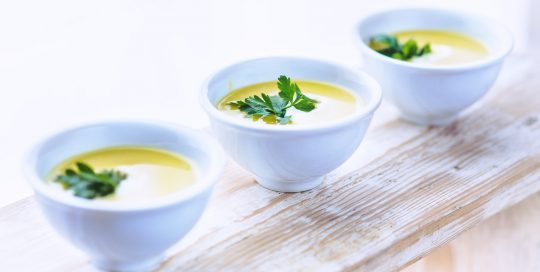Image of healthy soup for low carb cooking